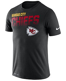 Men's Kansas City Chiefs Sideline Legend Line of Scrimmage T-Shirt