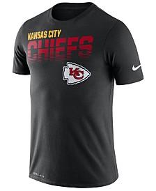 Nike Men's Kansas City Chiefs Sideline Legend Line of Scrimmage T-Shirt