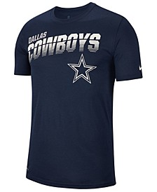 Men's Dallas Cowboys Sideline Legend Line of Scrimmage T-Shirt