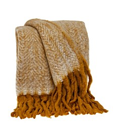 Nagar Transitional Handloomed Mohair Throw