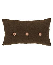 """Cardigan Design Decorative Throw Pillow, 12"""" x 20"""""""