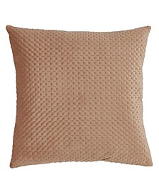 "Pinsonic Velvet Throw Pillow, 18"" x 18"""