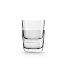 Marc Newson by Palm Tritan Whisky Tumbler with white non-slip base, Set of 2