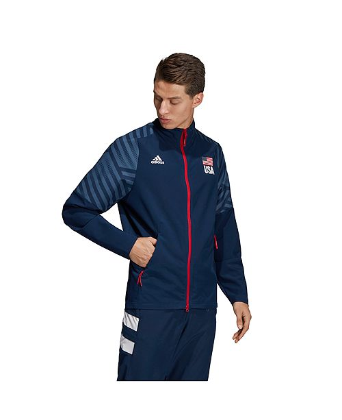 Men's USA Volleyball Warm Up Jacket