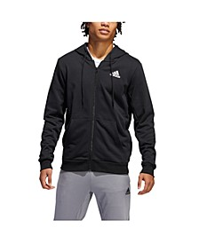 Men's Climalite French Terry Full Zip Basketball Hoodie