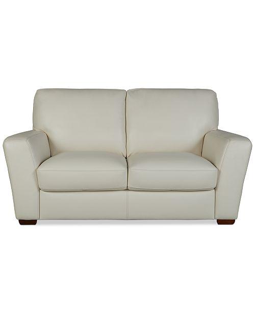 Furniture Jaspene 68 Leather Loveseat