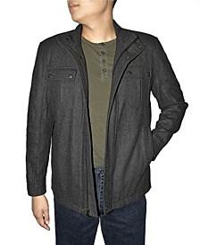 Retro Men's Wool Blend Jacket
