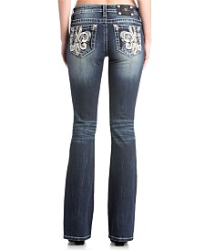 Miss Me Mid Rise Straight Jeans