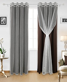 Grommet Mix and Match Thermal Insulated Blackout Curtains
