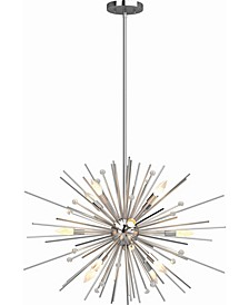 Alice 12-Light Down Rod Chandelier