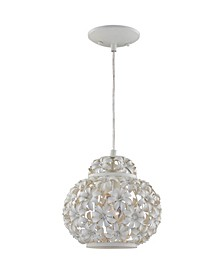 1-Light Mini Hanging Pendant