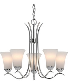 Alesia 5-Light Hanging Chandelier