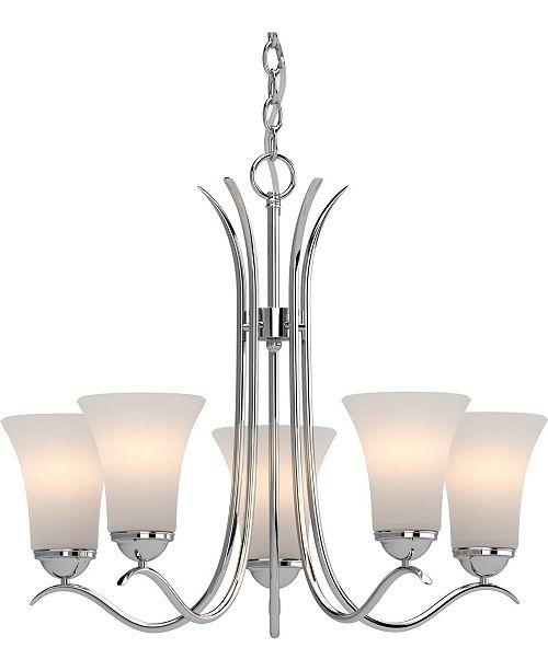 Volume Lighting Alesia 5-Light Hanging Chandelier