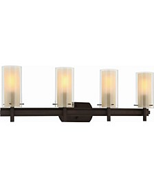 Regina 4-Light Bathroom Vanity Wall Sconce or Wall Mount