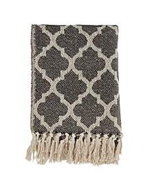 Moroccan Tile Design Throw
