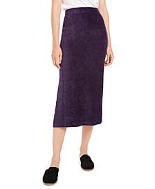 Helen Ribbed Tube Midi Skirt