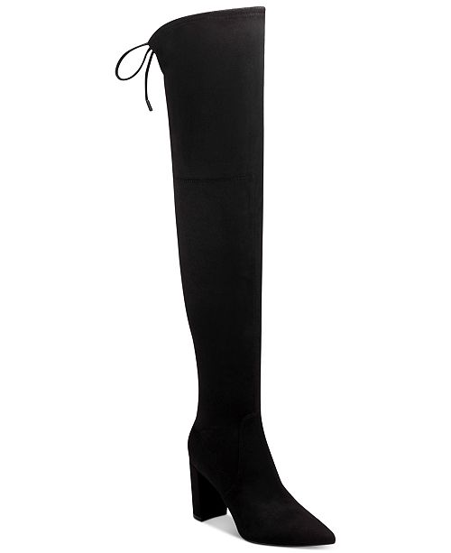 Marc Fisher Vany Over-The-Knee High-Heel Boots