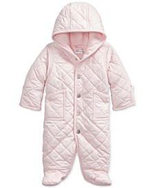 Baby Girls Plain Weave Buntin Coat