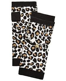 Sporty Leopard Flip Top Armwarmers