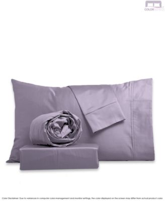 Silky Touch Sateen Silky Sheet Set- King