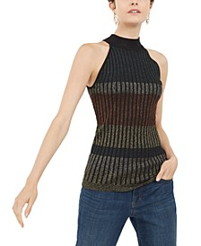 INC Mock-Neck Sweater Tank Top, Created For Macy's