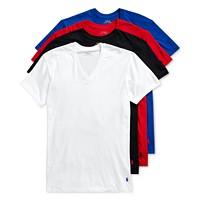 Deals on Polo Ralph Lauren Mens 3 +1 Bonus Pk. Cotton T-Shirts