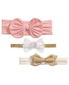 Baby Girls 3-Pk. Headbands, Created For Macy's
