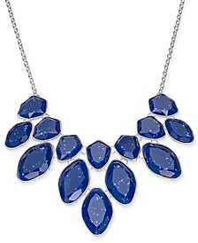 "Multi-Stone Statement Necklace, 18"" + 3"" extender, Created For Macy's"