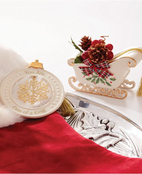 Lenox Christmas.Christmas Classic Ornament Collection