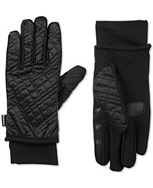 Isotoner Signature Women's SleekHeat® Quilted Gloves with smarTouch® Technology