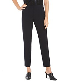 Highline Slim Straight-Leg Dress Pants