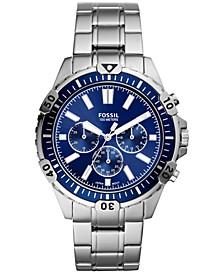 Men's Chronograph Garrett Stainless Steel Bracelet Watch 44mm