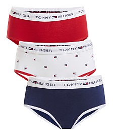 Tommy Hilfiger Little & Big Girls 3-Pk. Hipster Underwear