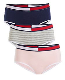 Little & Big Girls 3-Pk. Hipster Underwear