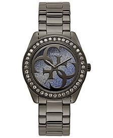 Women's Gray Stainless Steel Bracelet Watch 40mm