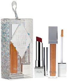 2-Pc. Crystal Clear Lip Set Ornament - Limited Edition