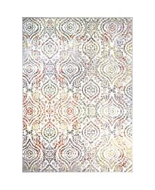 "Global Rug Design Barstow BAR01 Ivory 6'6"" x 9'6"" Area Rug"