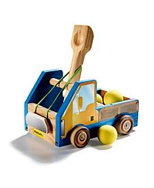 Wooden Truck Slingshot DIY Set