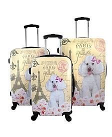 Paris 3-Piece Hardside Luggage Set