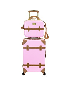 """Chariot Gatsby 2 Piece 20"""" Carry-On and Beauty Case Set"""
