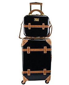 """Gatsby 2 Piece 20"""" Carry-On and Beauty Case Set"""