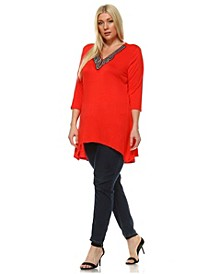 Plus Size Tonya Top/Tunic