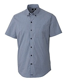 Men's Anchor Gingham Short Sleeve