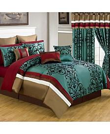 Baldwin Home 24 Piece Room-In-A-Bag Eve Queen Bedroom Set