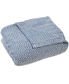 Home Chevron King Luxury Soft Blanket