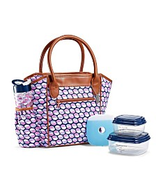 Fit & Fresh Stamford Insulated Lunch Bag Kit