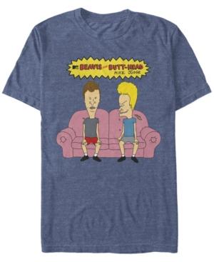 Mtv Men's Couch Potatoes Logo Short Sleeve T-Shirt
