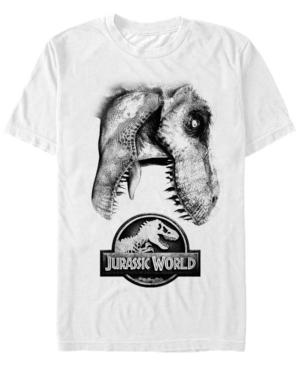 Men's Neon Tropical Dinosaurs Short Sleeve T-Shirt