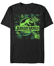 Men's Fern Leaf Logo Short Sleeve T-Shirt