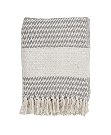 Diamond Weave Design Throw
